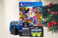 1. advent konkurrence: Vind Bomberman spil og tilbehør til din Dual Shock 4 kontroller