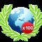 Win in 100 online games