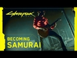 Cyberpunk 2077 - Refused: Becoming SAMURAI trailer