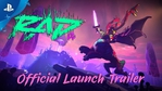 Rad launch trailer