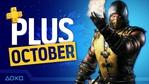 PlayStation Plus - PS4 og PS5 - Oktober 2021
