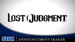 Lost Judgment - Announcement trailer